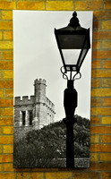 Tower and Lamp at Withyking Entrance in Oxrod