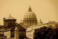 View of the Dome (Sepia)
